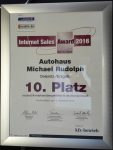 Internet Sales Award 2016